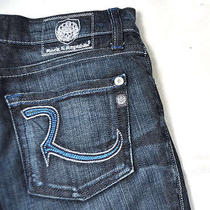 Rock & Republic Henlee Selenium Blue Jeans Boys 10 Usa Photo