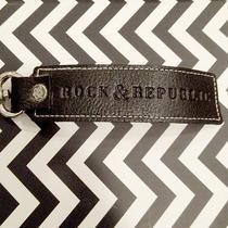 Rock & Republic Leather Keychain Photo