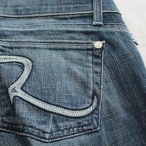 Rock & Republic Maternity Women Radial Blue Adjustable Jeans Nwt  29  36x35 179 Photo