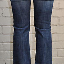 Rock & Republic Roth Radion Crystal  Bootcut Blue Jeans 27/31 Photo