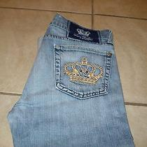 Rock & Republic Victoria Beckham Crown Light Wash Jeans Sz 29x20 Photo