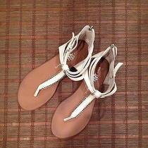 Rock & Republic White Sandals Photo
