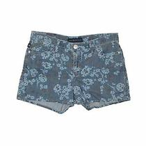 Rock & Republic Women Blue Denim Shorts 12 Photo