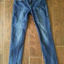 Rock & Republic Womens Low Rise Medium Wash Skinny Leg Blue Denim Jeans Size 8 Photo