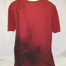 Rock & Republic Xl Red T-Shirt Short Sleeve Guitar Drum Set Kit Band R & R Nice Photo