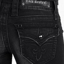 Rock Revival Celine Straight Stretch Jean Photo