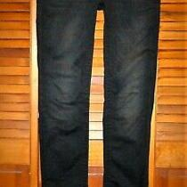 Rock Revival Jeans Celine Straight  Size 28 Women's  Black Stretch Denim  Photo