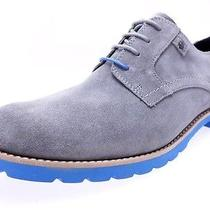 Rockport Ledge Hill Plain Toe Griffin Shoes for Men Gray/baby Blue Size 9 Photo