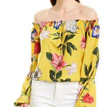Rococo Sand Bloom Top Women's Yellow M Photo