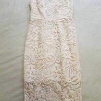 Rodeo Show Cream & Nude Blush Lace Dress - Size 6 Photo