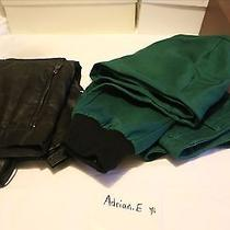 Ronnie Fieg Mercer Kith Pants and Leather Zara Cargo Pants  Photo