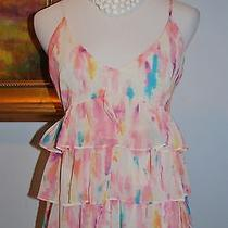 Rory Beca for Forever 21 Pink v-Neck Tank Size S New Without Tags Photo