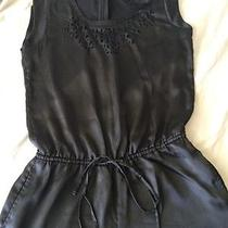 Rory Beca Romper Forever 21 Black Size Small Photo