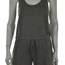Rory Beca Womens Romper Size S Gray Solid Sleeveless Shorts Modal Casual Photo