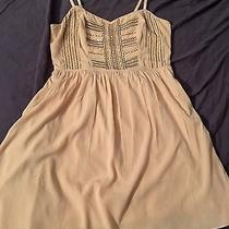 Rose Blush Pink Ae American Eagle Size 4 Small S Mini Dress With Embellishment Photo