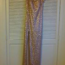 Rose Gold Dress Gown Photo