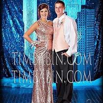 Rose Gold Prom Dress  Photo