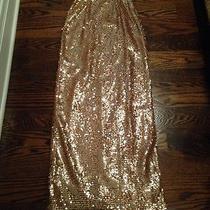 Rose Gold Sequin Dress Photo