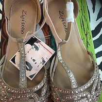 Rose Gold Shoea With Box/ballerina Shoes Photo