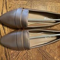 Rose Gold Women Flat Shoes Us Size 8 Brand New Photo