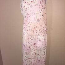 Rose Josie Natori Pj Medium Loungewear Tank Shirt Pants Sleep Wear Photo