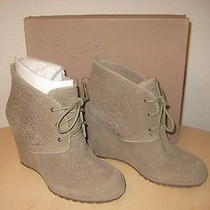 Rosegold Shoes Size 9 M Womens New Bevin Mushroom Wedge Booties Eur 39 Uk 6 Photo