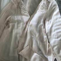 Rosemunde Copenhagen Blouse Size 40 Palest Pink Excellent Condition Photo