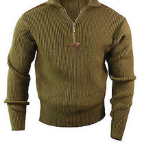 Rothco Commando Military Quarter Zip Acrylic Zip Up Sweater Photo