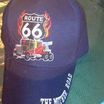 Route 66 the Mother Road Baseball Cap - Choice of Colors - Please Specify  Photo