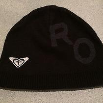 Roxy 2 Way Wear Black Hat One Size  Photo