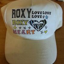 Roxy Adjustable Hat Cap White Acs  Photo