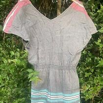 Roxy Beach Summer Mini Dress Tunic Made in India Sp Photo