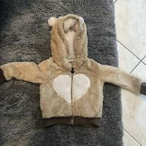 Roxy Bear Hooded Sweatshirt Fleece Jacket Sz 2t or 2 Authentic Photo