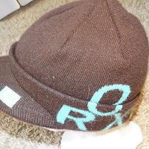 Roxy Beenie Hat/cap Women Brown One Sizes Unique  Warm Low Price Photo