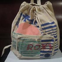 Roxy Beige Backpack. Photo