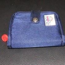 Roxy Blue Satin Wallet Photo