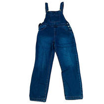 Roxy Bnwt Women's Blue Denim Overalls Size Large Rrp 119.99 Photo