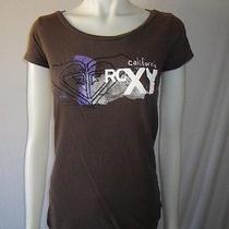 Roxy California Brown T-Shirt - Xs  Photo
