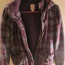 Roxy Coat (Purple Plaid) Photo