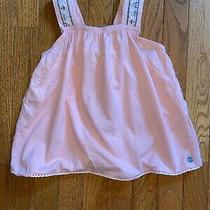 Roxy Girl Flowy Tank Top Lace Trim Detailed Strap Size 6 Photo