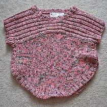 Roxy Girls' Pink Short Sleeves Sweater - Size 2t Photo