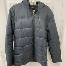Roxy Green Coat With Fleece Lining Size L  Photo