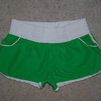 Roxy Green Gym Athletic Boxing Running Board Surf Short Mini Shorts Size 3 Jrs Photo