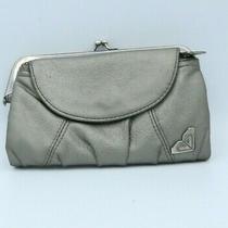 Roxy Grey Women's Wallet Clutch Faux Leather  Photo