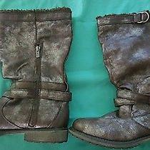 Roxy Grunge Brown Silver Womens Boots Photo