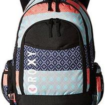 Roxy Junior's Cool Breeze Poly Backpack Simple Stripe Peacoat One Size Photo