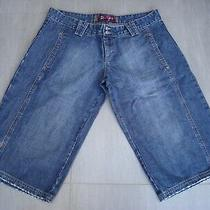 Roxy Ladies Shorts Size 4 Blue Denim Photo