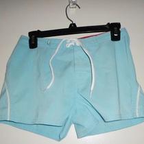 Roxy Light Blue Board Shorts Size 1 Photo