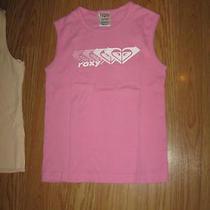 Roxy Light Pink Sleeveless Scoop Neck