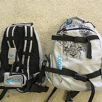 Roxy Magic Backpack With Snowboard Strapscellphone Case & Camera Compartment. Photo